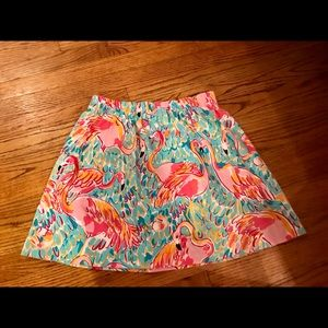 Lilly Pulitzer Skirts - Lilly Pulitzer flamingo skirt